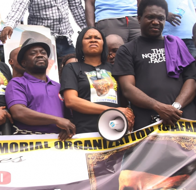 MEMORIAL RALLY FOR GANI FAWEHINMI